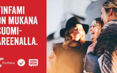 FinFami mukana SuomiAreenalla!