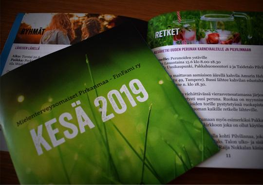 Tutustu kesän 2019 toimintakalenteriin