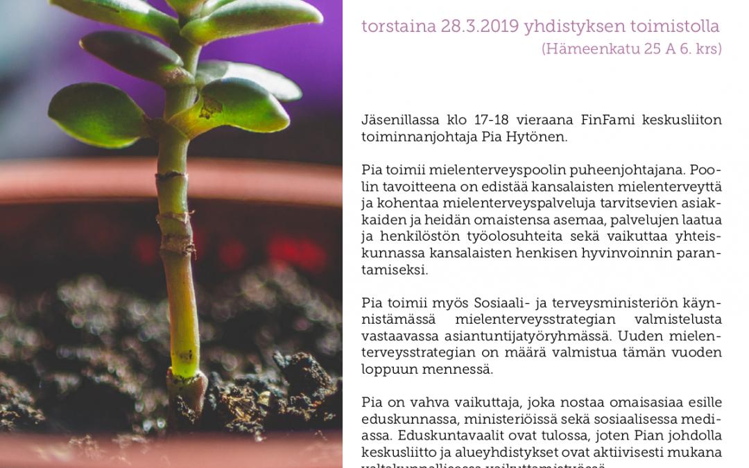 Jäsenilta ja vuosikokous 28.3.2019