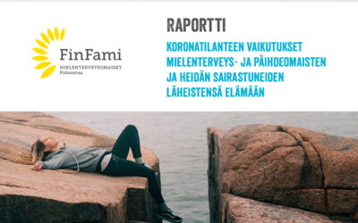Raportti koronatilanteen vaikutuksista mielenterveys- ja päihdeomaisten ja heidän läheistensä elämään